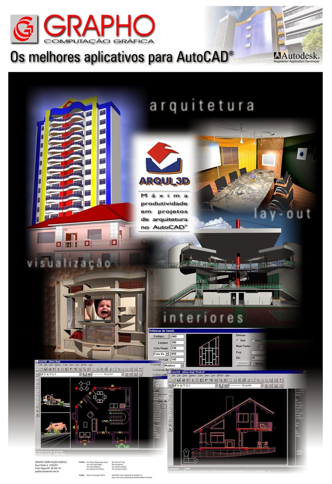 arqui 3d para autocad 2007