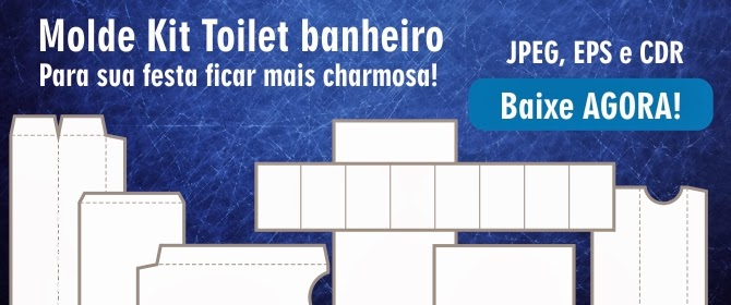 Moldes Do Kit Toilet Completo Para Banheiro Bruno Di Souza